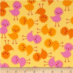 Urban Zoologie Flannel Chicks Sunshine