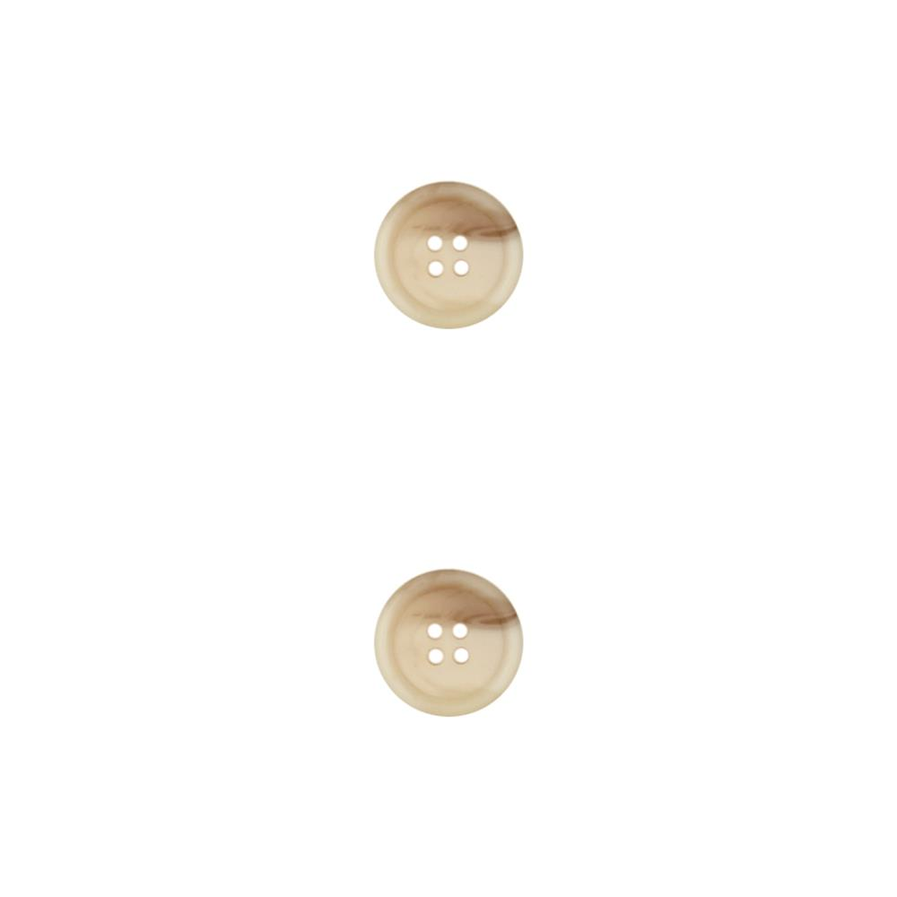 Dill Classic Button 3/4'' Beige