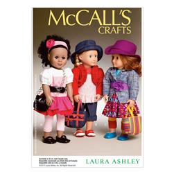 "McCall's Clothes and Accessories For 18"" Doll Pattern M6764 Size OSZ"