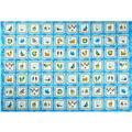 Forever By The Seaside Ocean Squares Blue