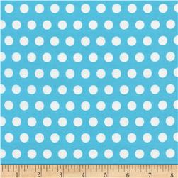 Timeless Treasures Tribeca Set Dot Aqua