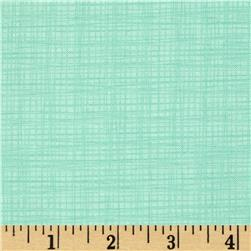 Moda Winterberry Linen Texture Mint