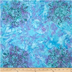 Bali Batiks Handpaints Snowflake Earth Day