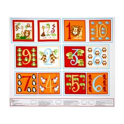 ABC-123 ABC Counting 36'' Book Panel