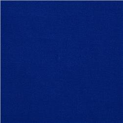 Poly/Cotton Twill Electric Blue