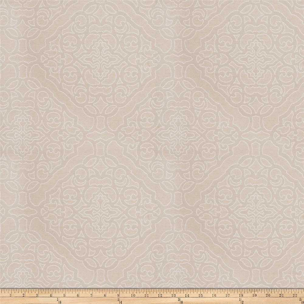 Fabricut crowe damask satin jacquard ecru discount for Jacquard fabric