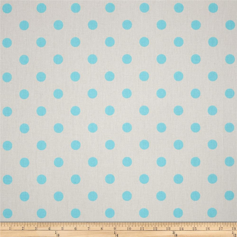 Premier Prints Polka Dot French Gray/Harmony