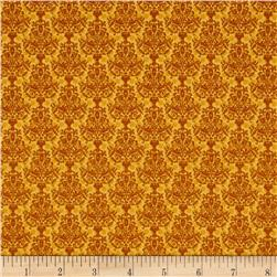Who's Who Damask Gold