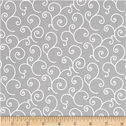 Maywood Studio Kimberbell Basics Scroll Gray