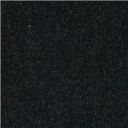 11 oz Wool Nylon Melton Heather Charcoal Fabric