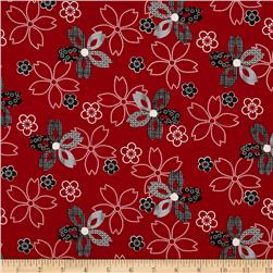 Essentials 10 Flower Red