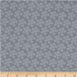 Shades Of Grey Small Tonal Floral Grey