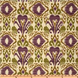 Richloom Solarium Outdoor Sumter Ikat Vineyard Home Decor