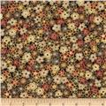 Narumi Metallic Packed Mini Floral Brown/Gold