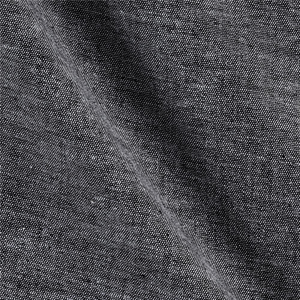 Chambray Gauze Black