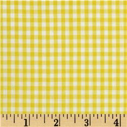 "Imperial 60"" Gingham 1/8"" Yellow"