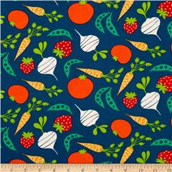 Garden Veggies Dusk Fabric