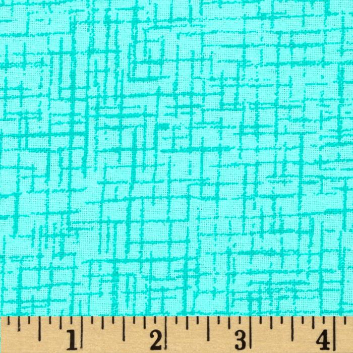 110 In. Wide Quilt Back Betula Flannel Aqua