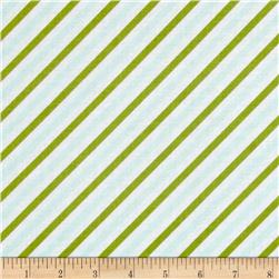 Riley Blake Oh Boy! Stripe Aqua