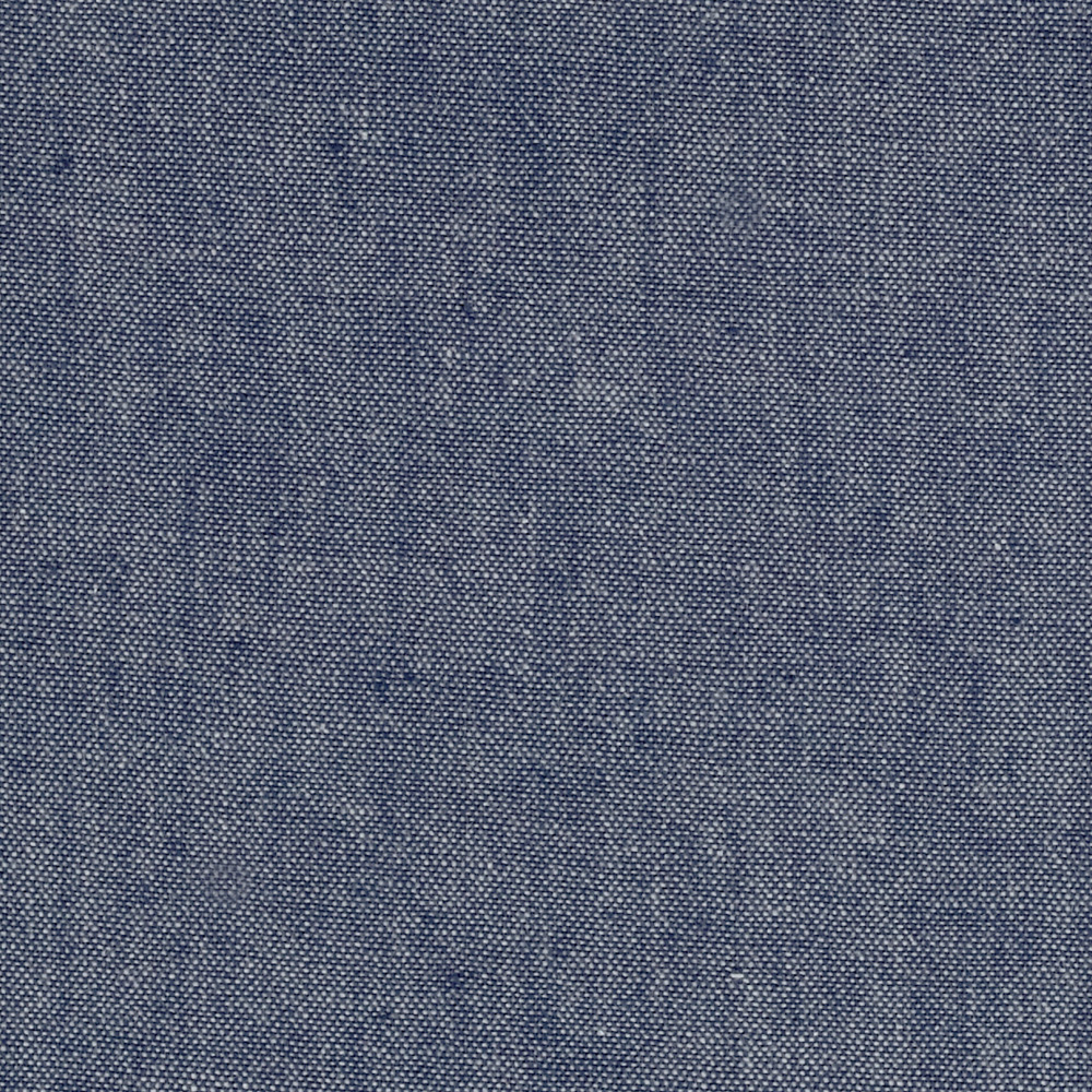 Kaufman Chambray Shirting Navy Fabric