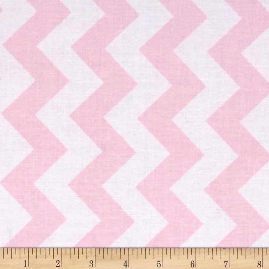 Riley Blake Medium Chevron Pink