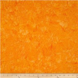 Timeless Treasures Tonga Batik Pashmina Mod Dot Tangerine