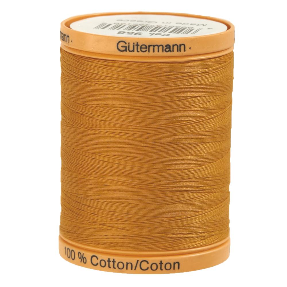 Gutermann Natural Cotton Thread 800m/875yds Gold