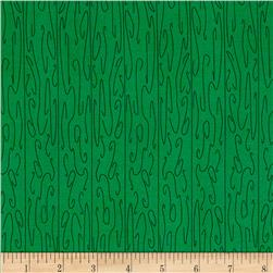 Wood Grain Green