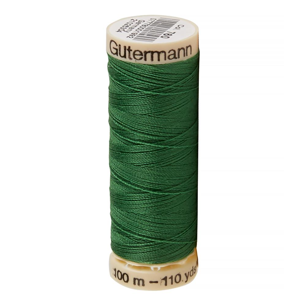 Gutermann Sew-All Thread 110 Yard (760) Kelly Green