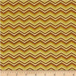Riley Blake Bittersweet Chevron Green