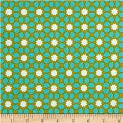 Alison Glass Seventy Six Sunshine Tiffany Teal