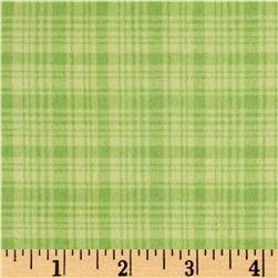 Comfy  Flannel Plaid Green