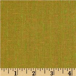 Crossweave Linen Orange/Lime