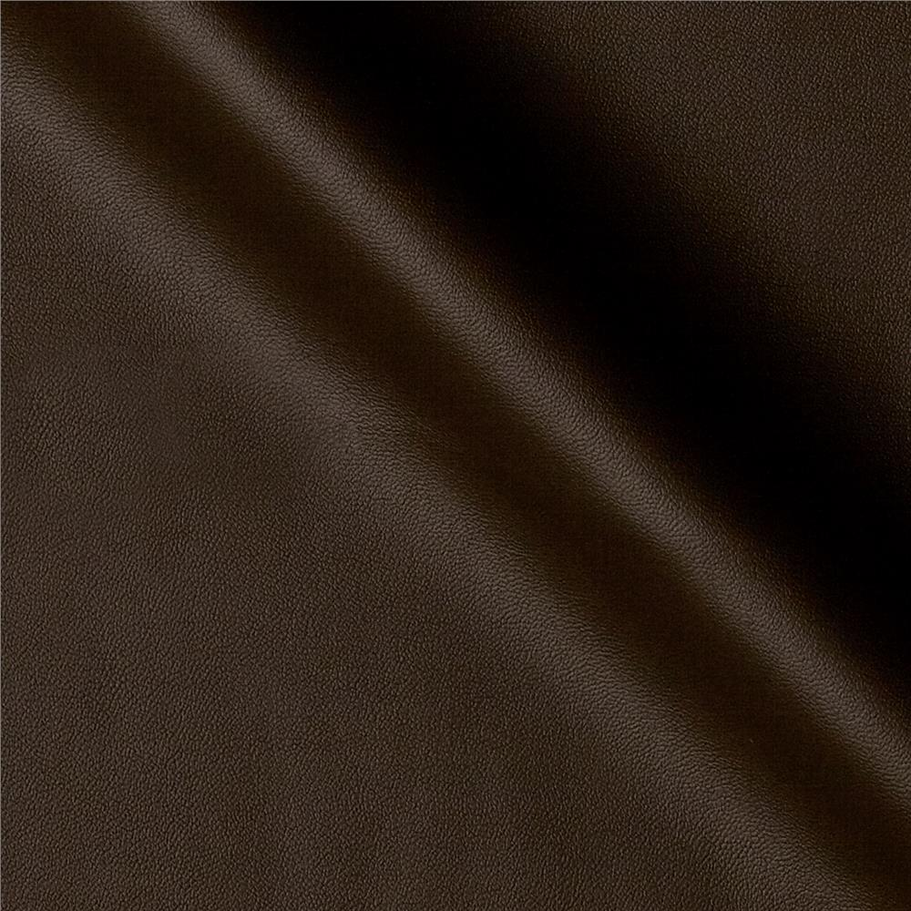 Raw Hide Faux Leather Chocolate