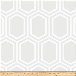 Opalescent Hexagon White