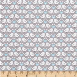 Tweet Together Love Birds Linen Grey