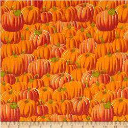 Fall Novelties Packed Pumpkins Orange