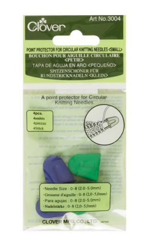 Clover Small Point Protector For Circular Knitting Needles,