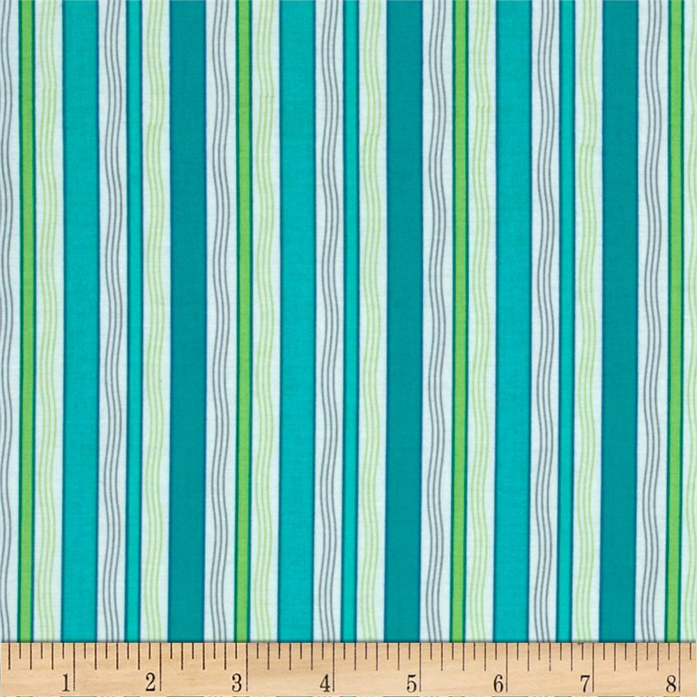 Gypsy Stripe Turquoise