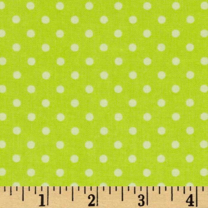 Dream A Little Dream Dots Lime