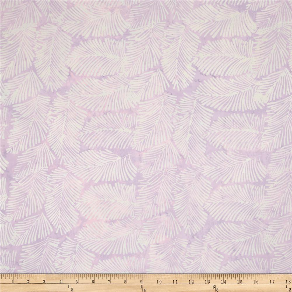 Island Batik Angel Light Lilac Needle Leaves