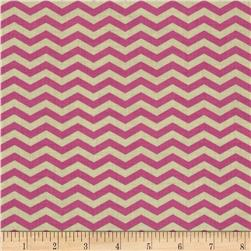 Heather Bailey True Colors Chevron Orchid