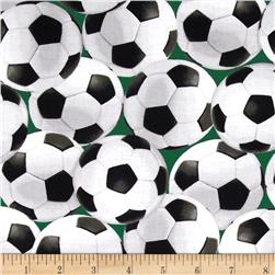 In the Game Soccer Balls Green