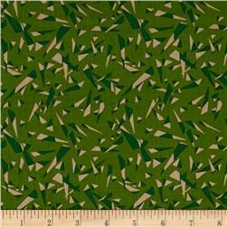 Graphix 3 Tossed Triangles Green/Brown