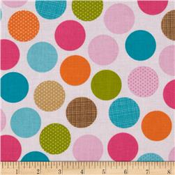 Riley Blake Summer Breeze Dot Pink