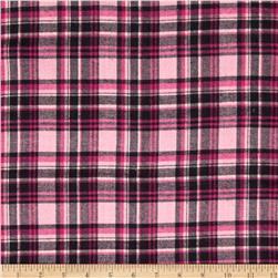 Windstar Flannel Plaid Pink/Black