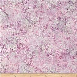 Wilmington Batiks Hearts and Ferns Light Purple
