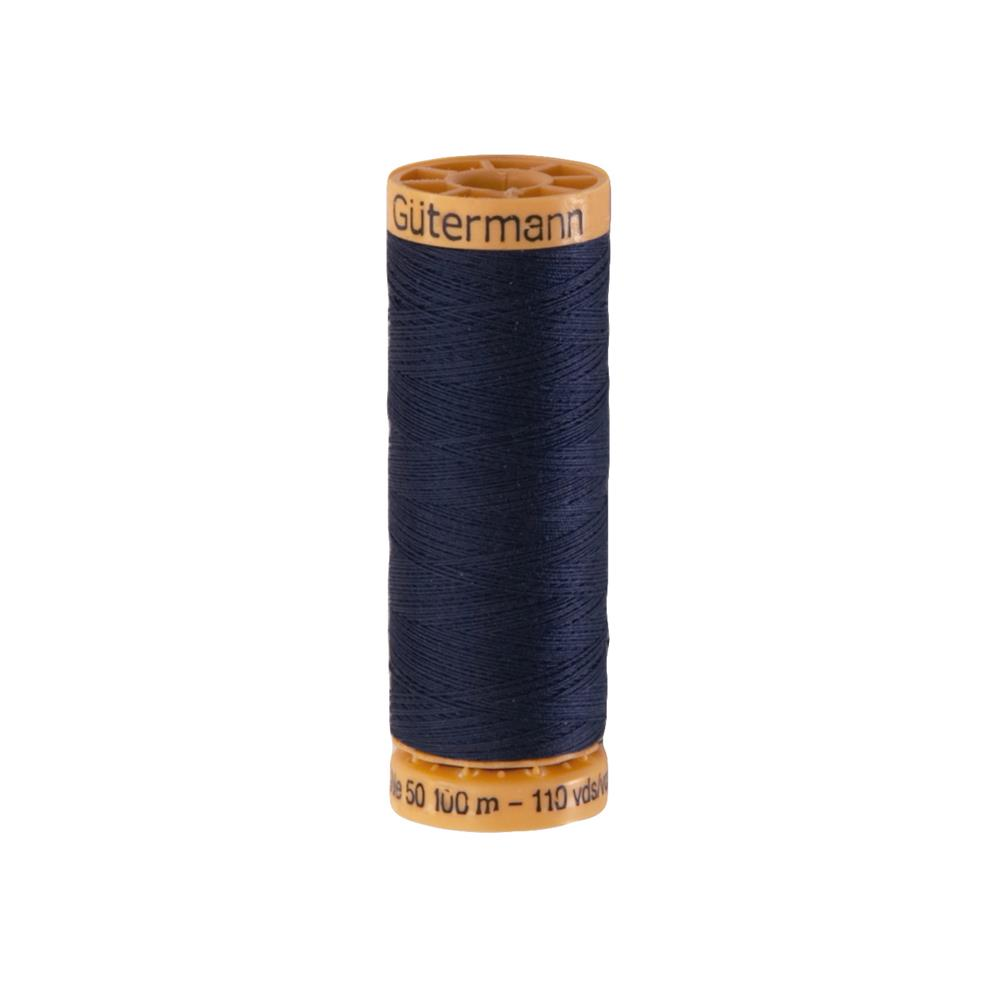 Gutermann Natural Cotton Thread 100m/109yds Dark Navy
