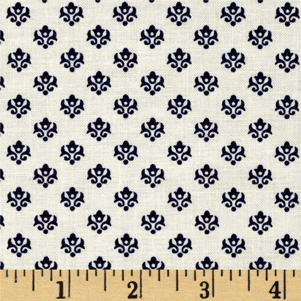 Mary Fons Small Wonders Netherlands Ditsy Blue