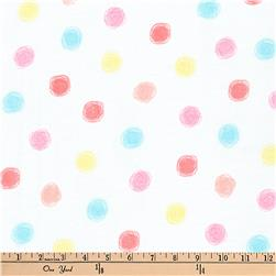 Kaufman Comfy Double Gauze Dots Summer